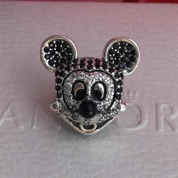 b3d21ad2c Pandora Jewelry   Disney Sparkling Mickey Mouse Charm   Poshmark